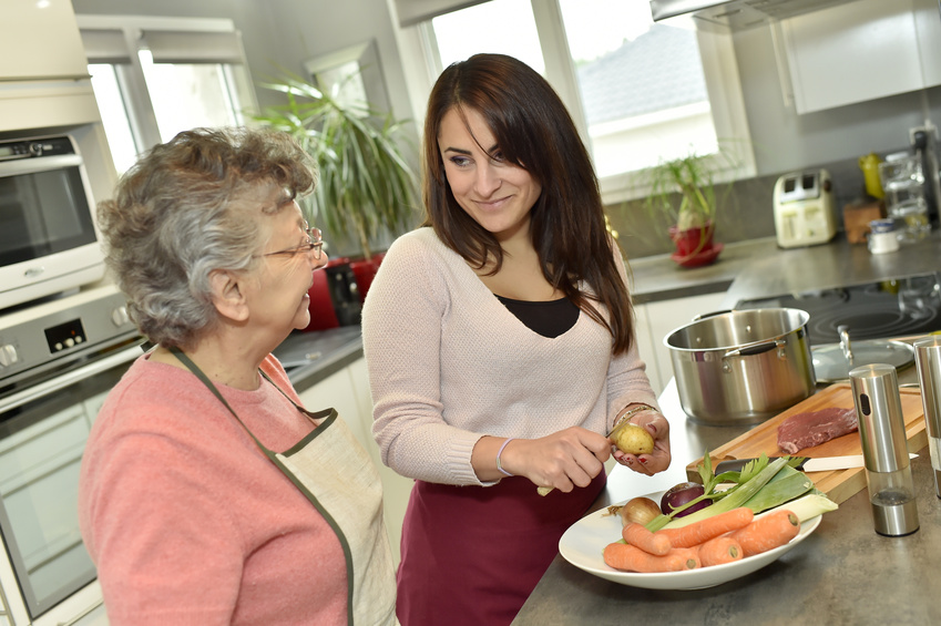 Home Health Aide Cooking